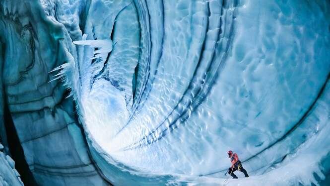 Imagens fantásticas de cavernas pelo mundo