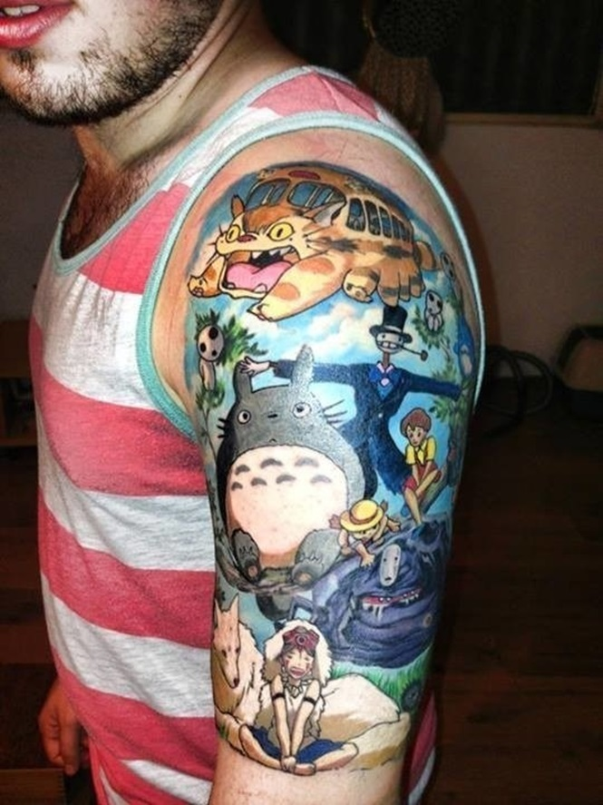 Tatuagens no estilo Geek