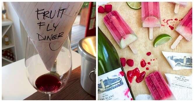 Maneiras diferentes de usar o vinho