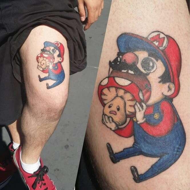 Tatuagens originais que os Geeks vão aprovar