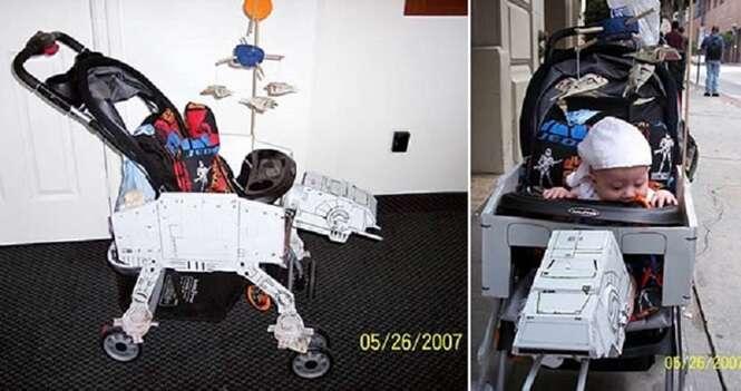 Presentes criativos para bebês que têm pais nerds