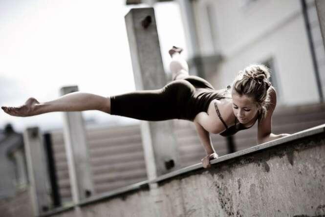 Posições de ioga que não são para qualquer pessoa