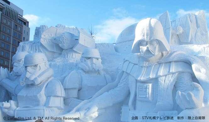 Foto: Sapporo Snow Festival