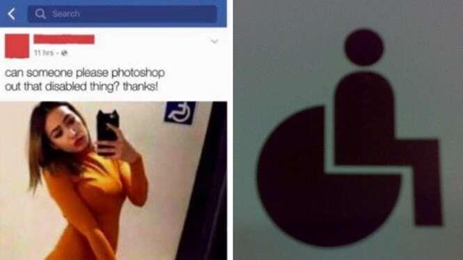 """Garota pede para internautas ajudarem a remover """"marca deficiente"""" de selfie e acaba tendo surpresa com resultado"""