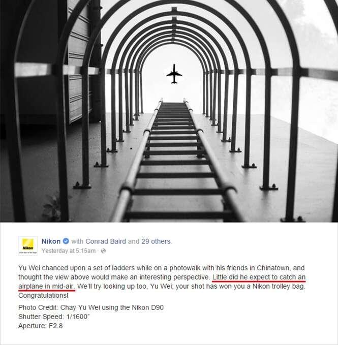 Internautas criam memes após descoberta de manipulação em concurso de fotos da Nikon