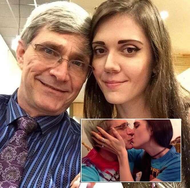 Mulher de 27 anos afirma que sexo com parceiro de 60 é incrível