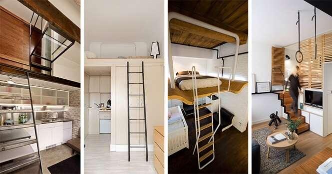 Exemplos de pequenos locais que aproveitaram muito bem seu espaço