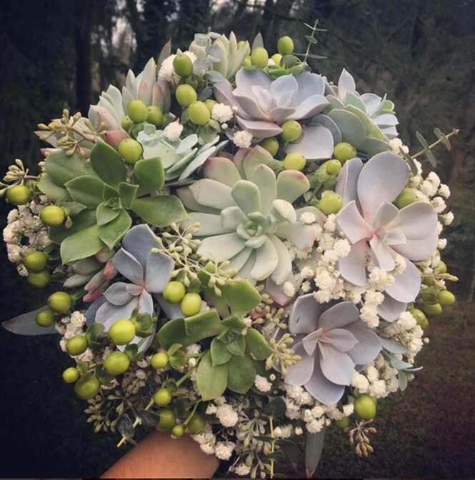 Alternativas aos tradicionais buquês de noivas
