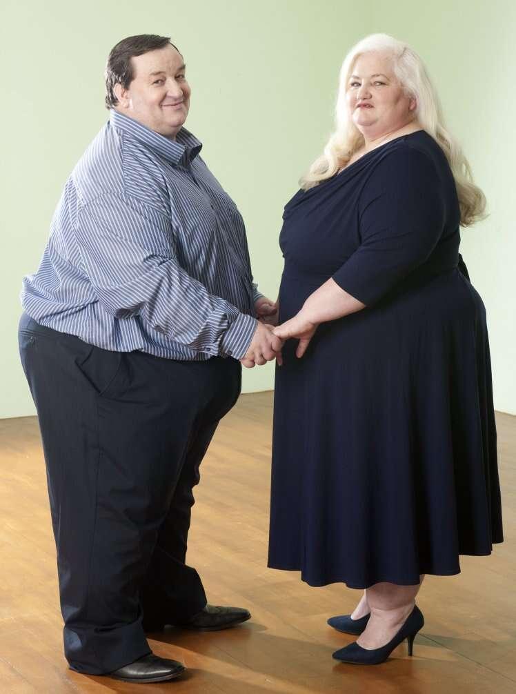 Casal de obesos se separa depois de descobrir infidelidade de ambas as partes