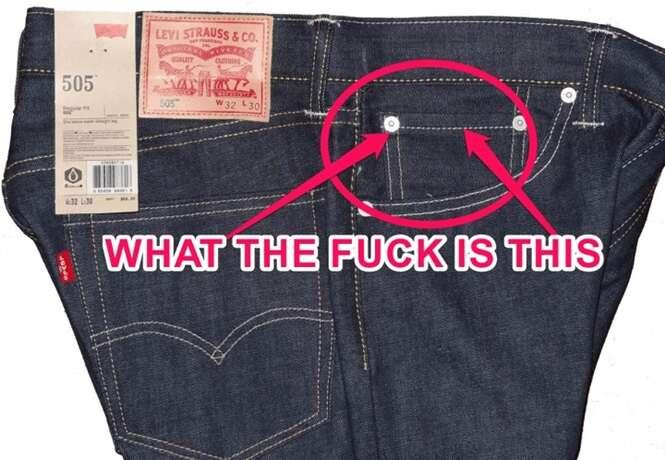 Você sabe para que servem os bolsos pequenos de calças jeans?