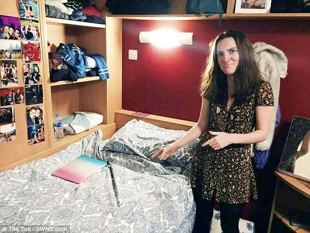 Mãe aluga quarto da filha apenas 5 dias após menina ir para a universidade