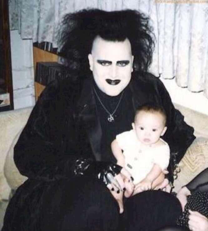 Fotos estranhas de família