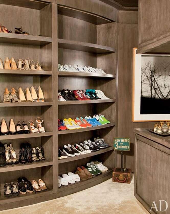 Closets incríveis de celebridades
