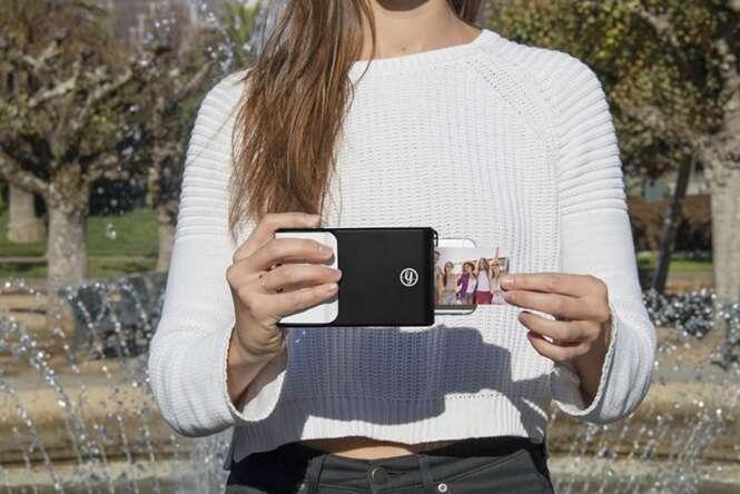 Conheça o case de smartphones que imprime fotos instantaneamente