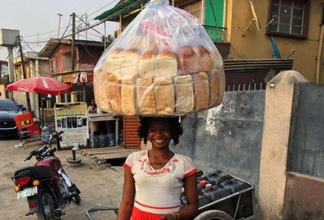 Vendedora de pães se torna modelo depois de ser fotografada acidentalmente durante o trabalho