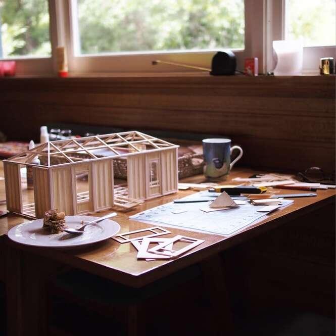 Advogada abandona carreira para se dedicar a arte em miniatura