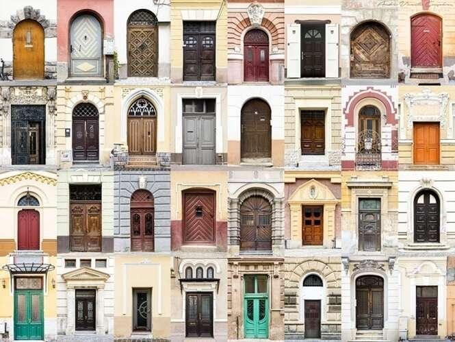 Fotógrafo se especializa em capturar imagens de portas de moradias