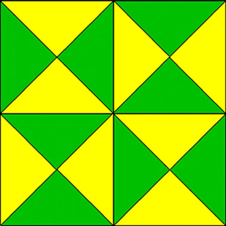 Quantos triângulos você vê na imagem?