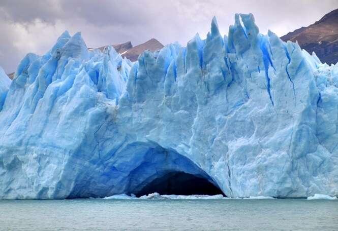 Imagens incríveis proporcionadas pelo frio