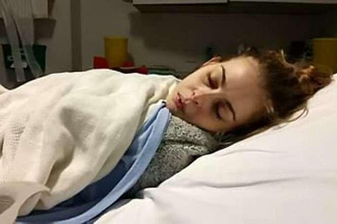 Mulher implora para morrer após picada de carrapato