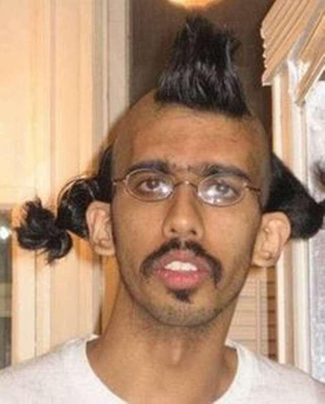 Os piores cortes de cabelo do mundo