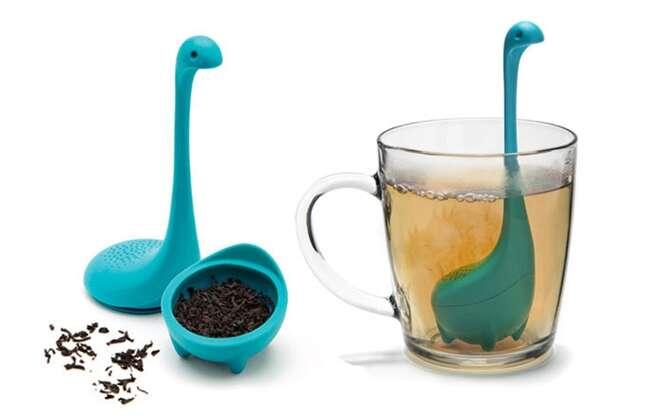 Fabricante cria infusor de chá com formato de monstro do Lago Ness