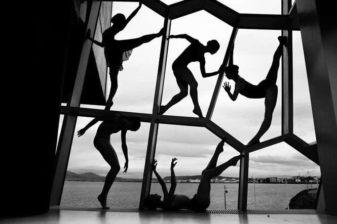 Bailarina registra fotos poderosas de profissionais que atuam em seu segmento