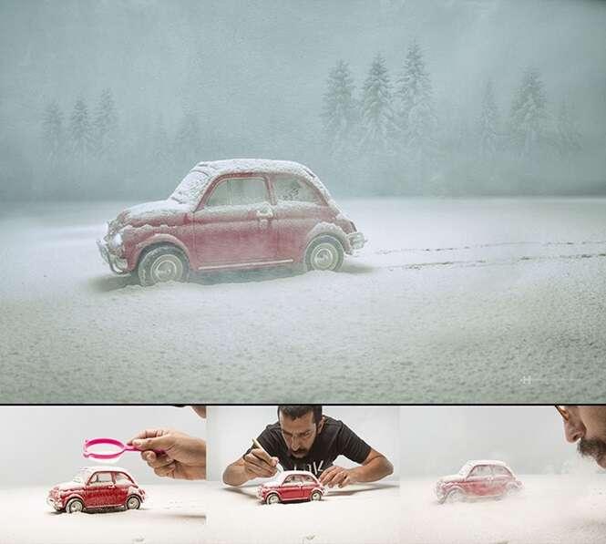 Fotógrafo usa técnica criativa para dar vida a brinquedos