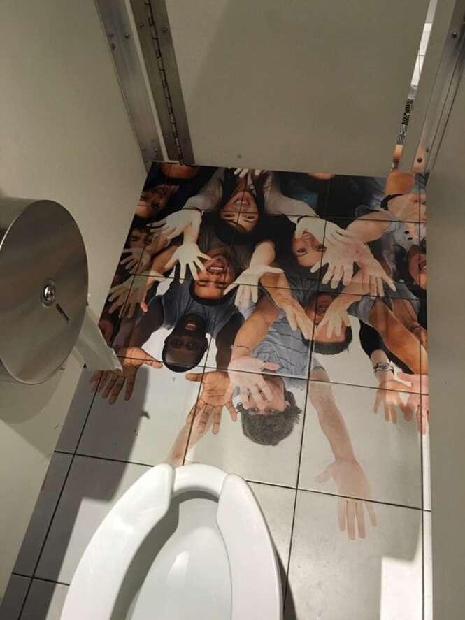 Banheiros que não vão deixar você à vontade