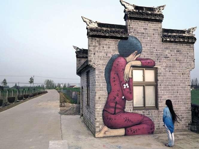 Artes de rua que interagem com o ambiente