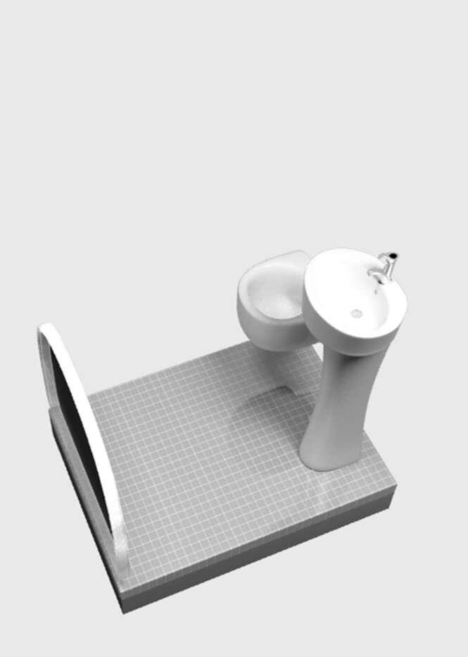 Designer projeta boxe perfeito para quem tem banheiros pequenos