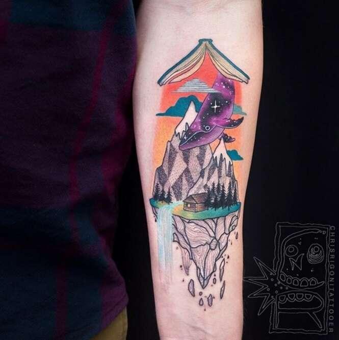 Tatuagens para quem ama livros