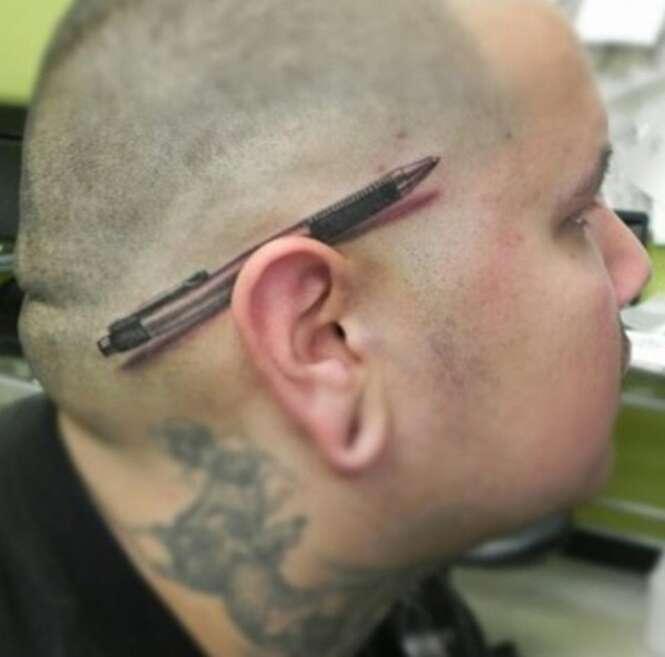 As mais incríveis tatuagens tridimensionais