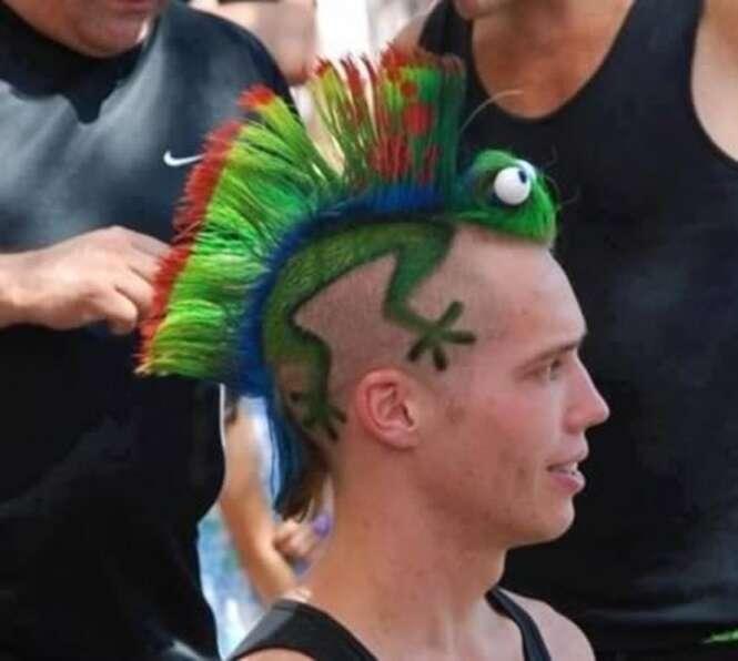 Tatuagens de cabelo impressionantes