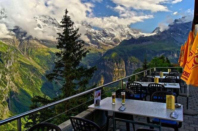 Fotos de lugares com vistas incríveis