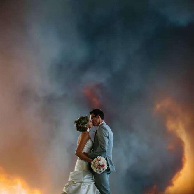 As mais extremas fotos de casamento