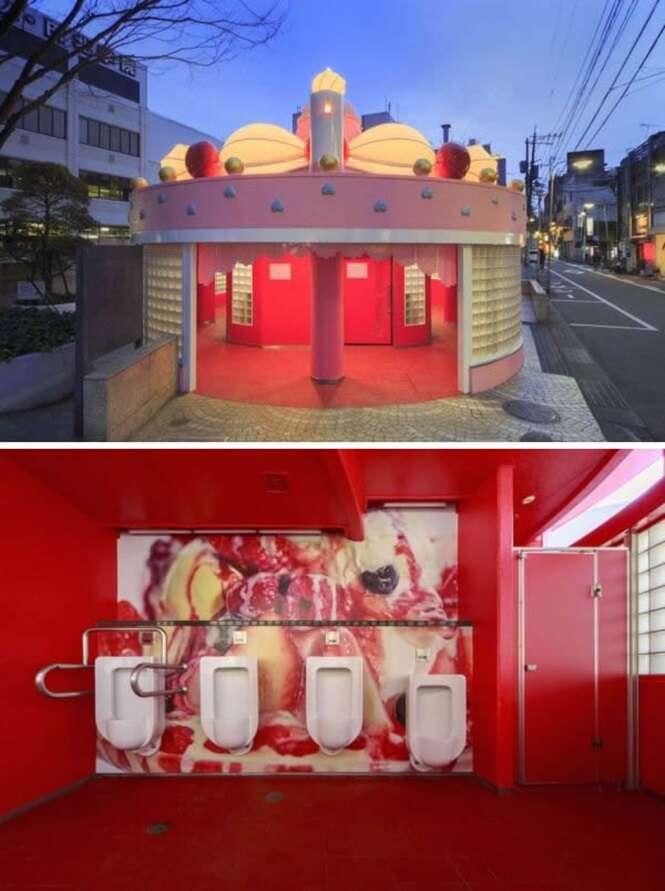 Os mais curiosos banheiros públicos
