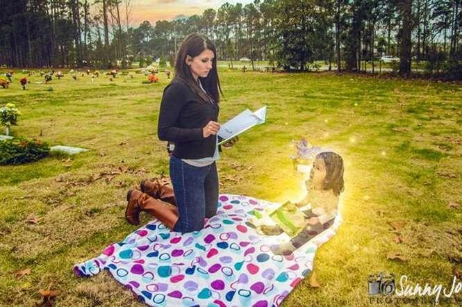 Mãe que pode pegar pena de morte por matar filha faz incrível sessão de fotos
