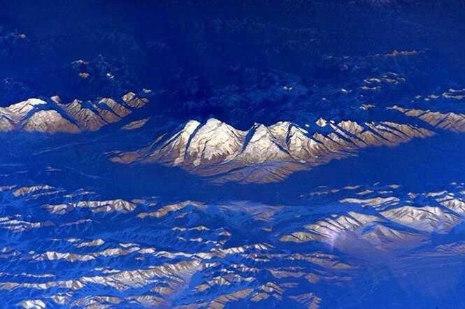 Imagens fantásticas da Terra registradas do espaço