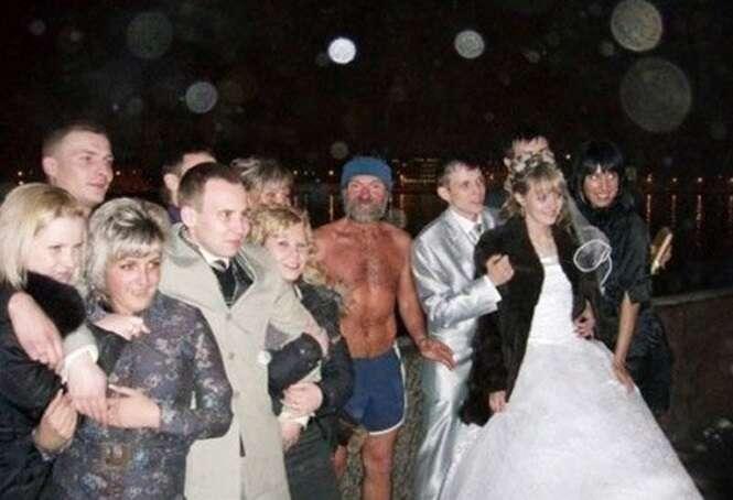 Fotos de casamento que foram arruinadas por descuidados