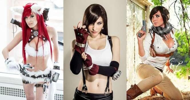 As mais belas cosplays do mundo dos games