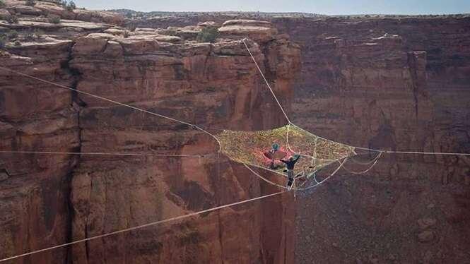 Imagens incríveis registradas por aventureiros