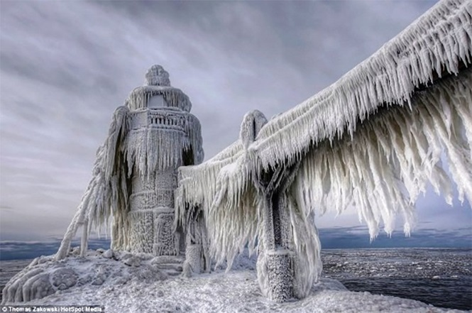 Fotos incríveis de paisagens congeladas