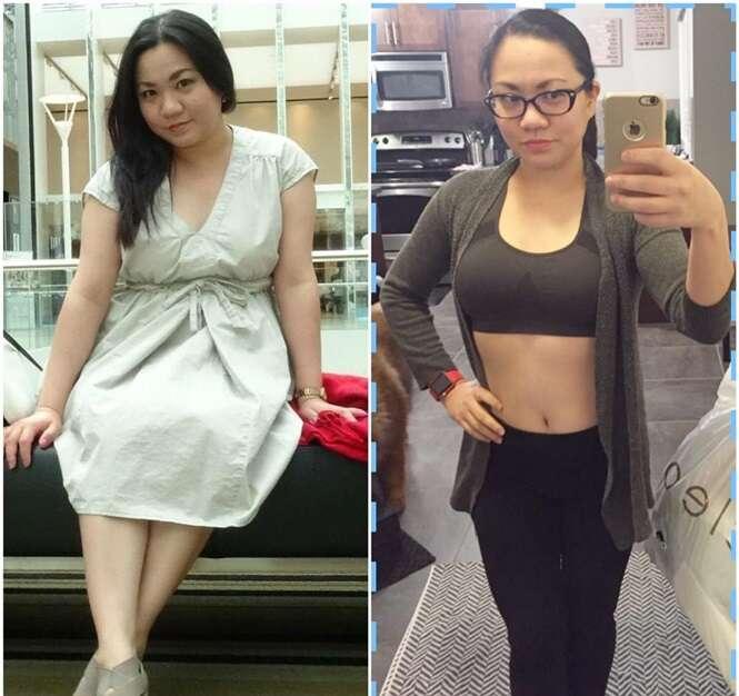 Transformações de pessoas que vão te inspirar a perder peso