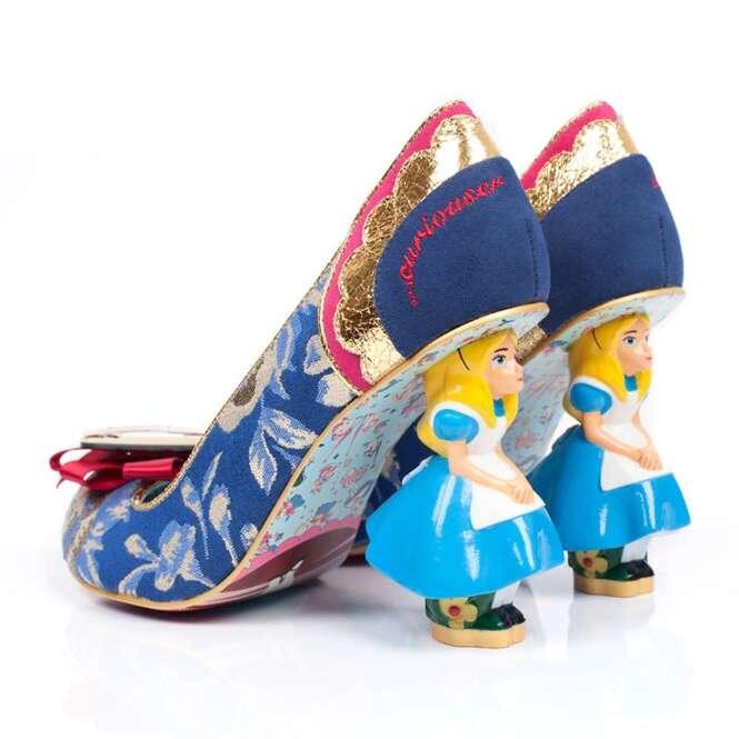 Alice no país das maravilhas inspira linha de calçados