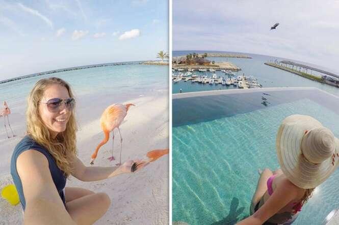 Mulher abandona emprego e agora recebe para viajar o mundo