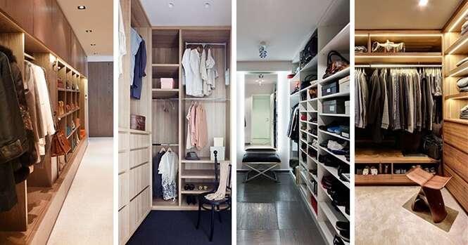 Closets e armários que vão te dar inveja