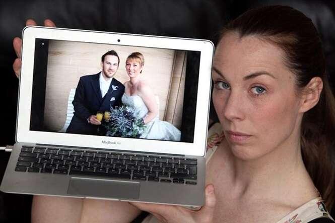 Esposa encontra carta de amor do marido para a amante e coloca à venda vestido de casamento e alianças