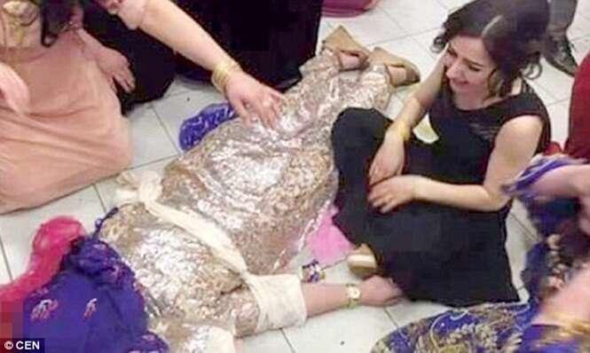 Mulher morre durante casamento arranjado após se recusar casar com o próprio primo