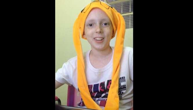 Menina de 12 anos que sonhava em ser famosa vence o câncer e se torna celebridade ao gravar vídeo comovente